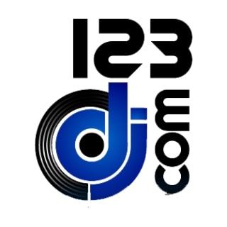 Shop 123DJ.com logo
