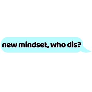 Shop new mindset who dis logo