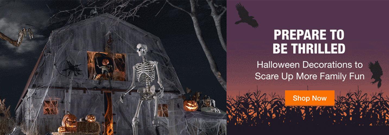 carousel homedepot halloween