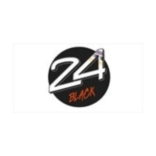 Shop 24 Black logo