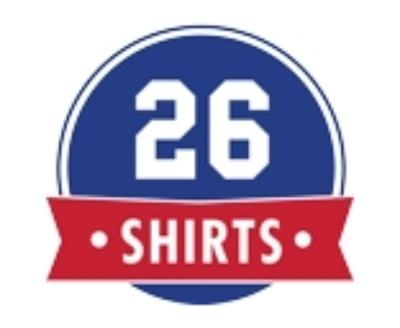 Shop 26 Shirts logo