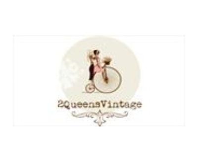 Shop 2QueensVintage logo
