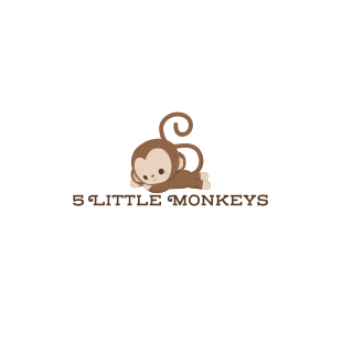 Shop 5 Little Monkeys logo