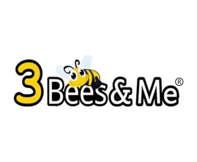 Shop 3 Bees and Me logo