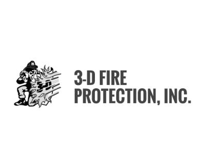 Shop 3-D Fire logo