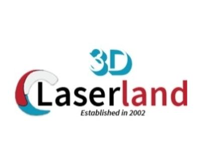 Shop 3DLASERLAND logo
