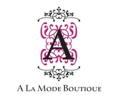 Shop A La Mode Boutique logo