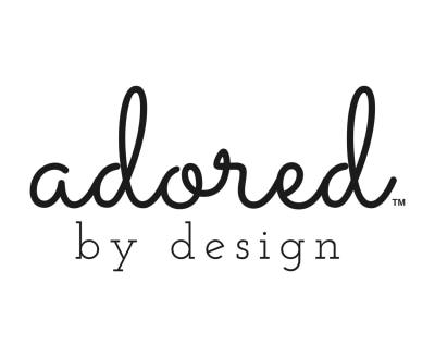 Shop ADORED BY DESIGN logo