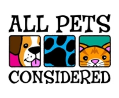 Shop All Pets Considered logo