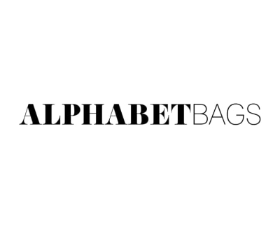 Shop Alphabet Bags logo
