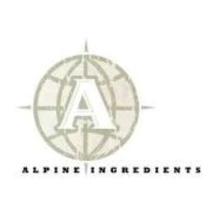 Shop Alpine Ingredients logo