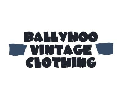 Shop Ballyhoo Vintage Clothing logo