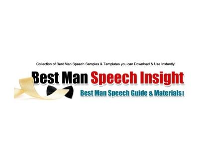 Shop Best Man Speech Insight logo