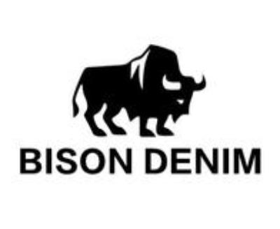 Shop Bison Denim logo