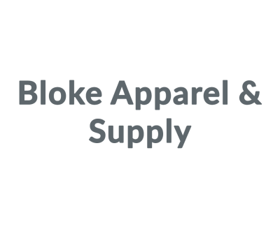 Shop Bloke Apparel & Supply logo