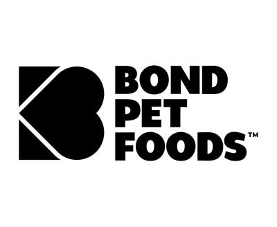 Shop Bond Pet Foods logo