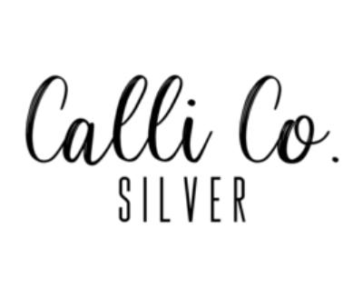 Shop Calli Co. Silver logo