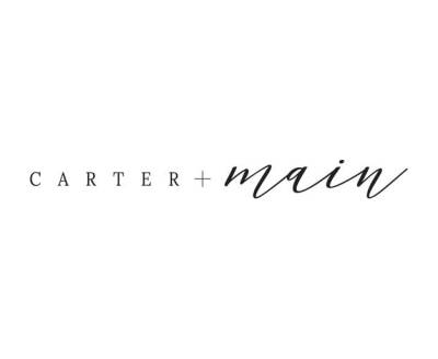 Shop Carter + Main logo
