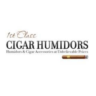 Shop 1st Class Cigar Humidors logo