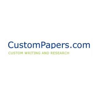 Shop CustomPapers.com logo