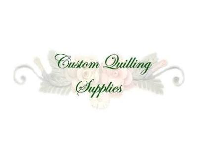 Shop Custom Quilling Supplies logo