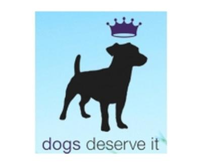 Shop Dogs Deserve It logo