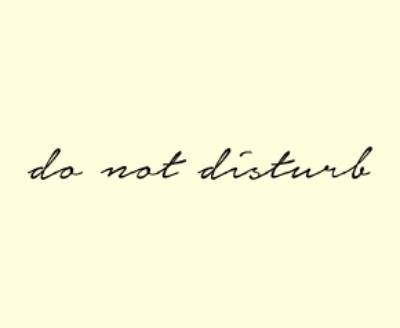 Shop Do Not Disturb logo