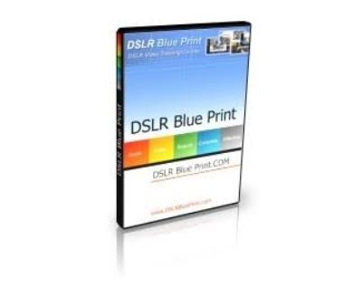Shop DSLR Blue Print logo