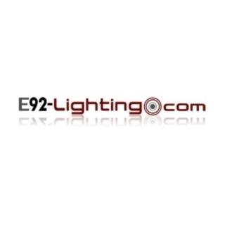 Shop E92 Lighting logo