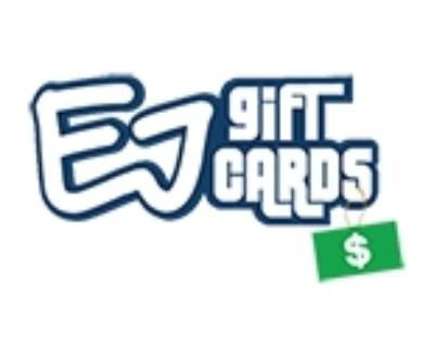 Shop EJ Gift Cards logo