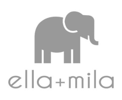 Shop Ella+Mila logo