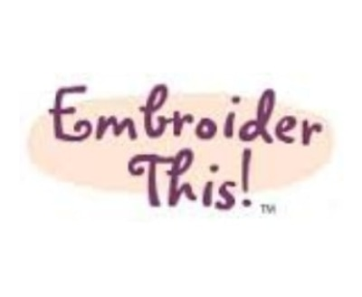 Shop Embroider This logo