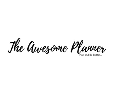 Shop The Aweome Planner logo