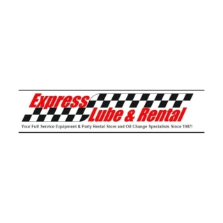 Shop Express Lube and Rental logo