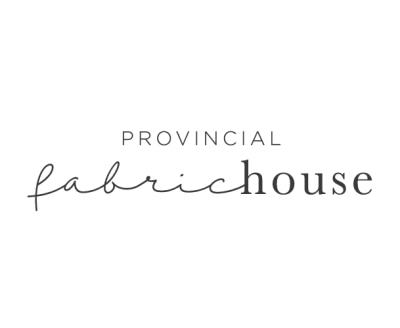 Shop Provincial Fabric House logo