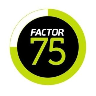 Shop Factor75 logo