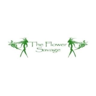 Shop The Flower Savage logo