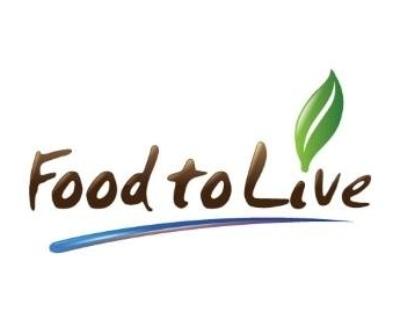 Shop Food To Live logo