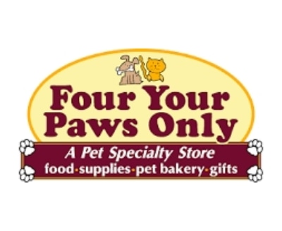 Shop Four Your Paws Only logo