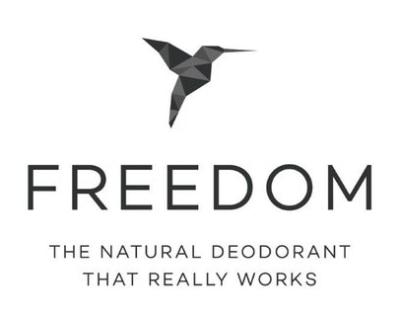 Shop Freedom Deodorant logo
