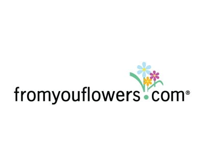Shop From You Flowers logo