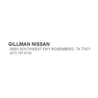 Shop Gillman Nissan logo