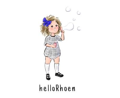 Shop HelloRhoen logo