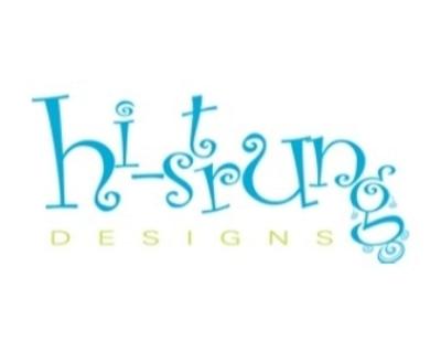Shop Hi-Strung Designs Jewelry logo