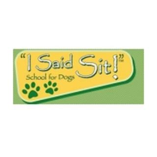 Shop I Said Sit logo