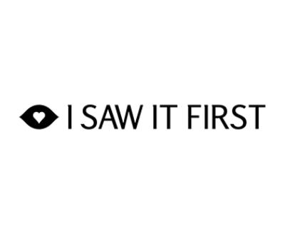 Shop I Saw It First logo