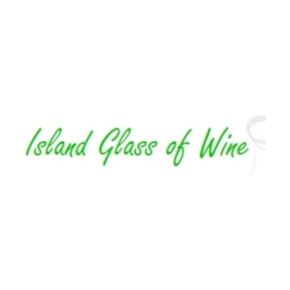Shop Island Glass of Wine logo