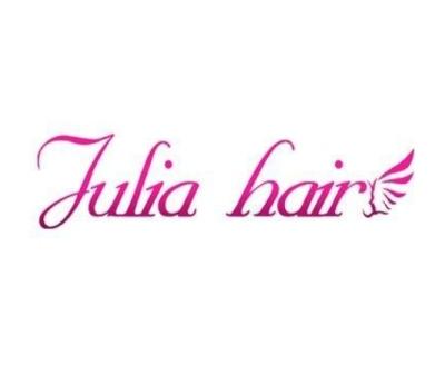 Shop Julia hair logo