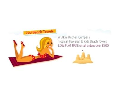 Shop Just Beach Towels logo