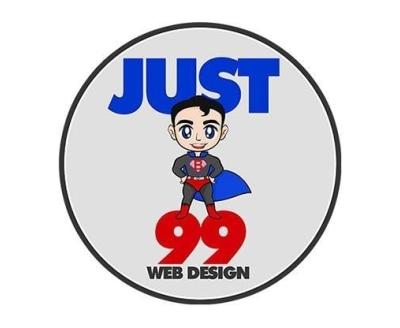 Shop Just 99 Web Design logo